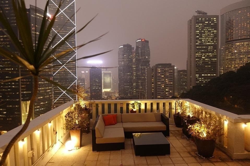 Rooftop Lighting for Hong Kong apartments